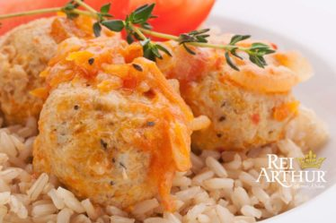Receita bolinho arroz com queijo