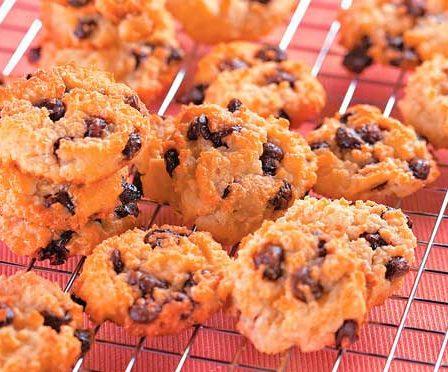 Receita Cookies de Arroz