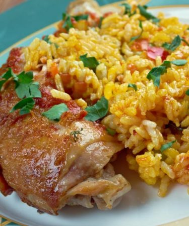 Receita De Receita de Como fazer galinhada gaúcha