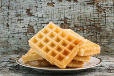 Receita de Waffle sem glúten