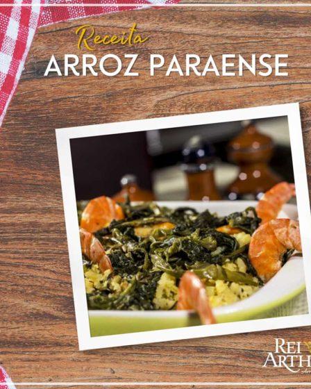 Receita de Arroz Paraense