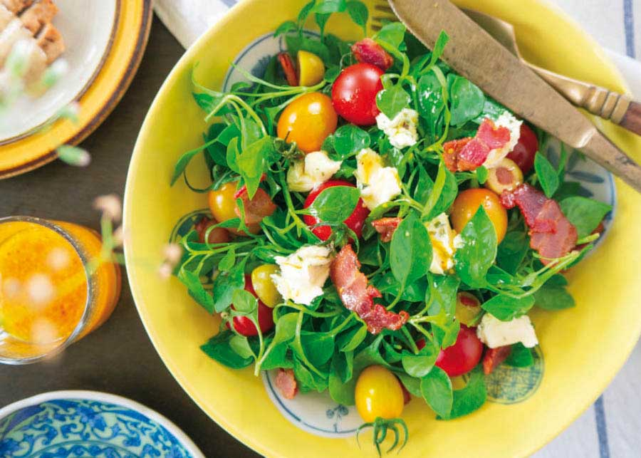 Receita Salada de grãos