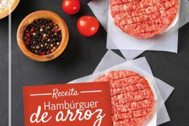 Receita Hambúrguer de arroz