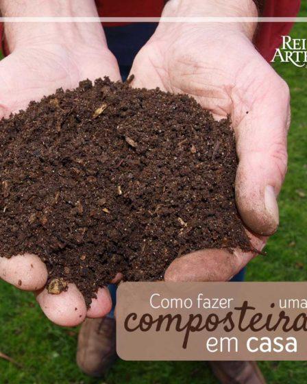 Como fazer uma composteira orgânica em casa