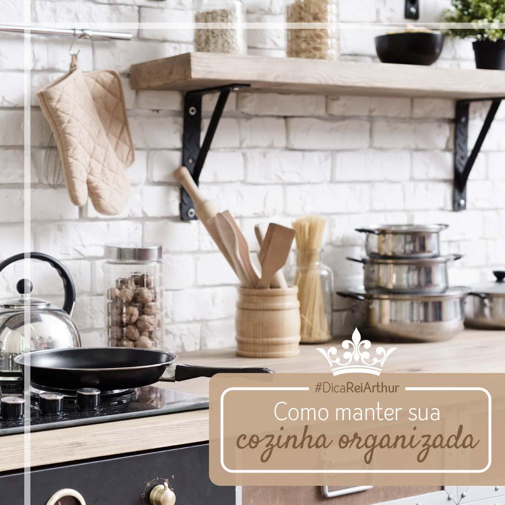 Dicas de como manter sua cozinha organizada