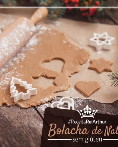 Receita Bolacha de Natal sem Glúten