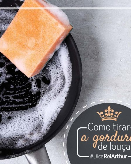 Como tirar a gordura das louças