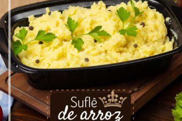 Receita Suflê de arroz