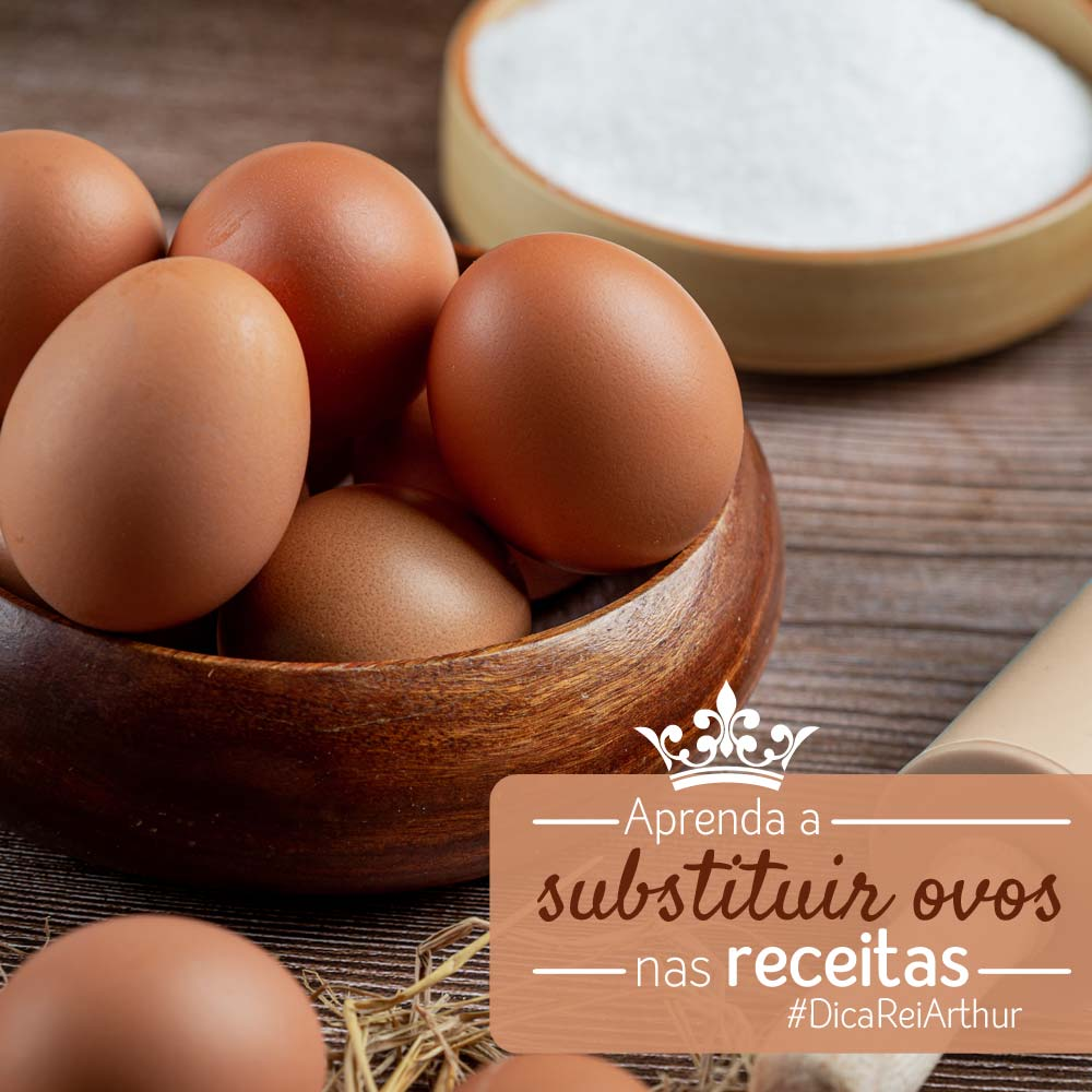 Aprenda a substituir ovos nas receitas