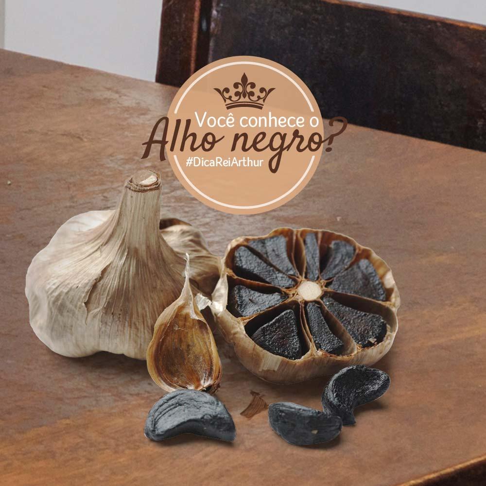 Você conhece o alho negro e seus benefícios?