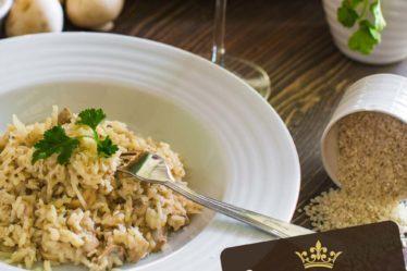 Qual o melhor arroz para risoto