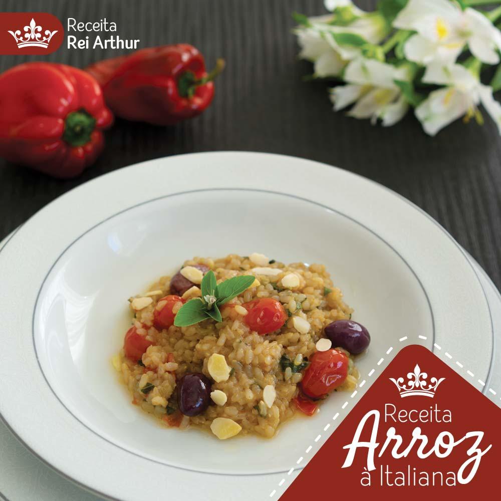 Receita Rei Arthur Arroz à Italiana