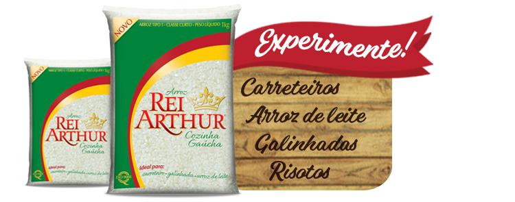 Conheça o Arroz Rei Arthur Cozinha Gaúcha