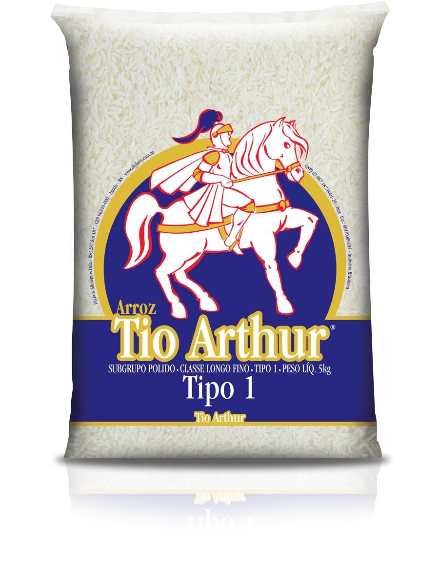 2002: Quarta embalagem Arroz Tio Arthur