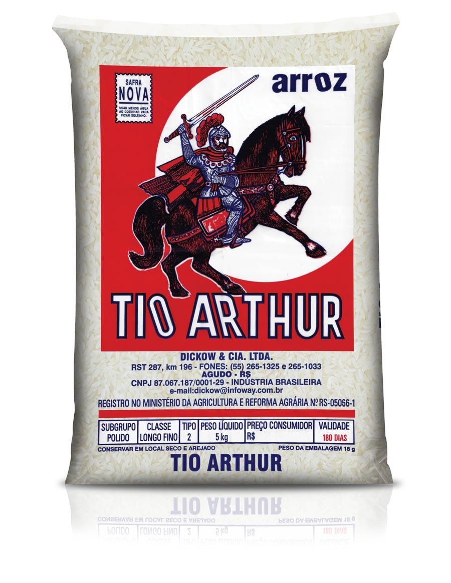 1995: Terceira embalagem do Arroz Tio Arthur