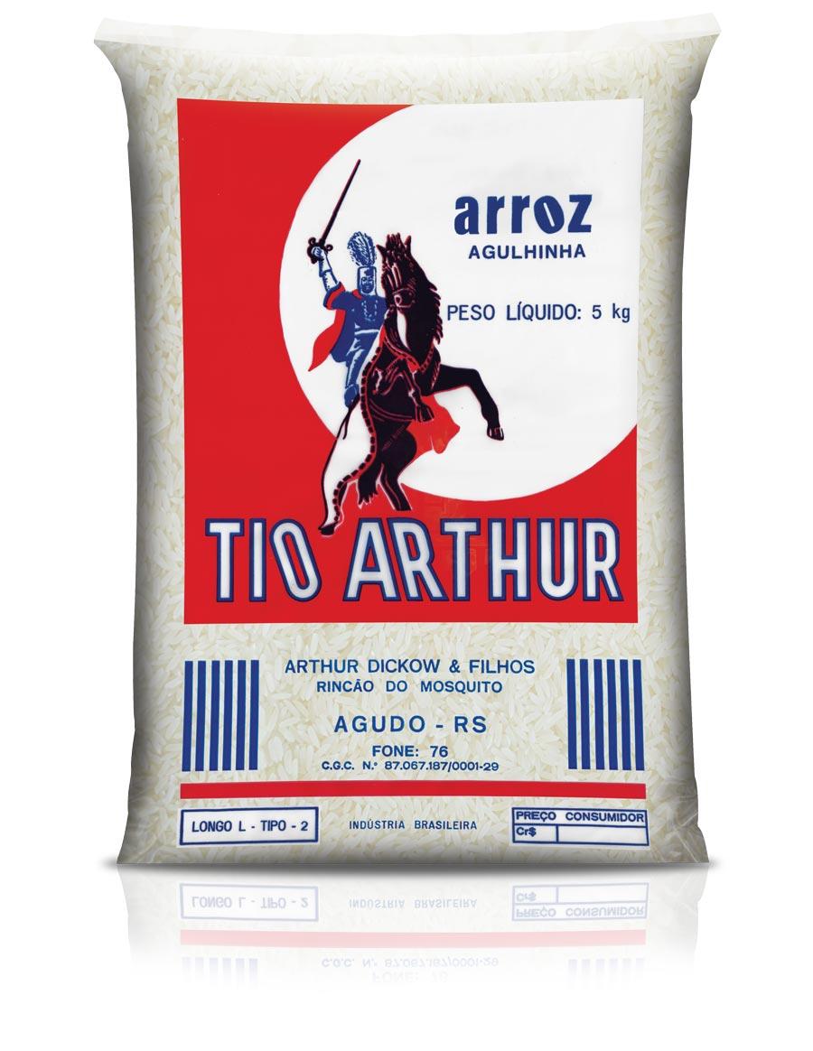 1981: Segunda embalagem Arroz Tio Arthur