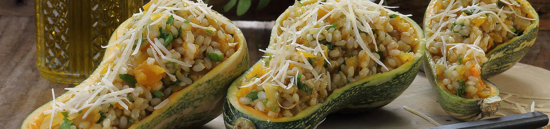 Receita: Risoto de arroz integral com abóbora, visite nosso blog!